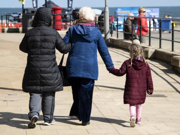 Photo: three generation family
