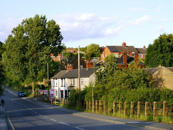 photo of village street
