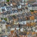 streets and housing in Portland, Dorset