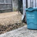 a food waste recycling bin